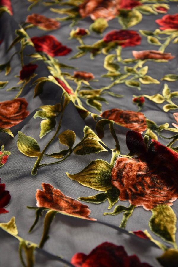 Панбархат красные розы (10491) - Фото 10