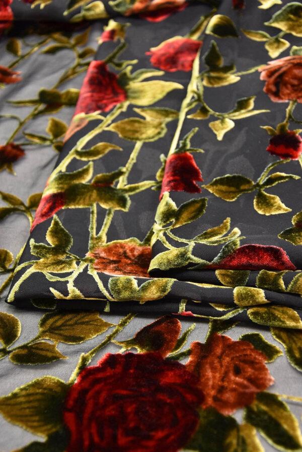 Панбархат красные розы (10491) - Фото 7