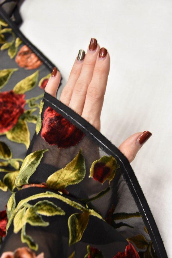 Панбархат красные розы (10491) - Фото 8