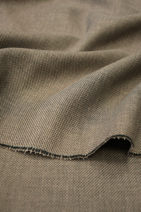 Твид коричневого оттенка (9963) - Фото 9