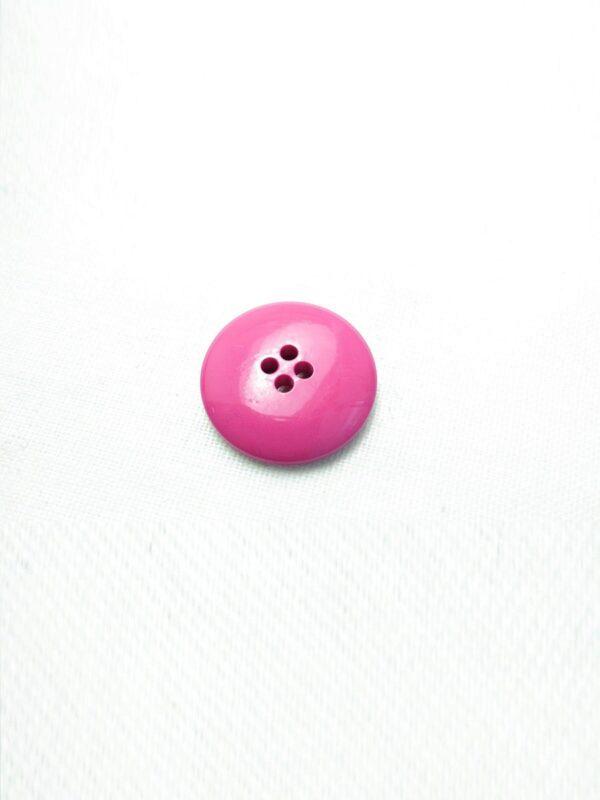 Пуговица пластик на прокол фуксия 19мм (p0609) к3 - Фото 8