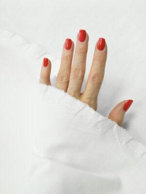 Джерси пунто милано белого цвета (7451) - Фото 25