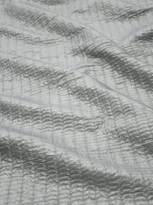 Курточная стежка серая в резинку (10059) - Фото 14