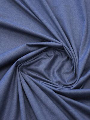 Трикотаж синий меланж (10041) - Фото 21