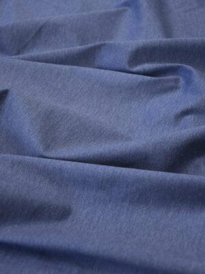 Трикотаж синий меланж (10041) - Фото 20