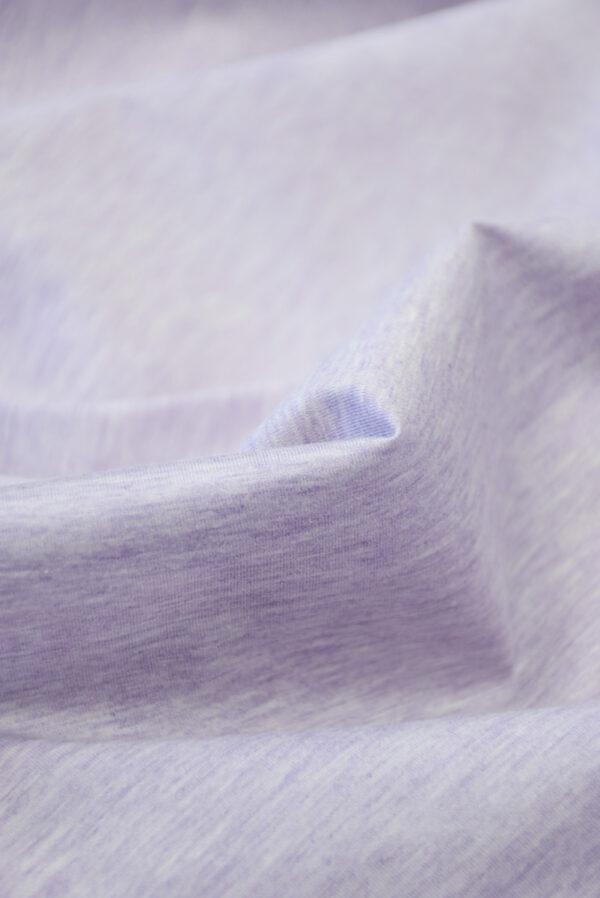 Трикотаж светло-сиреневый меланж (10043) - Фото 10
