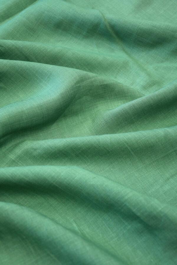 Лен светло-зеленого оттенка (10044) - Фото 6