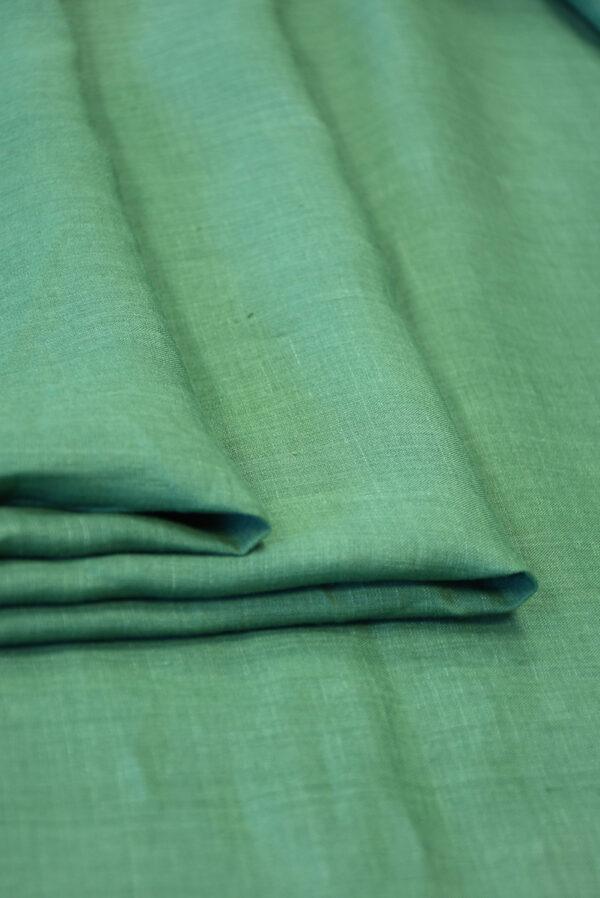 Лен светло-зеленого оттенка (10044) - Фото 9