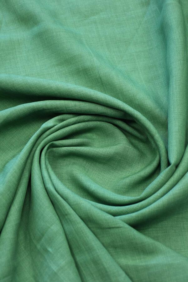 Лен светло-зеленого оттенка (10044) - Фото 8