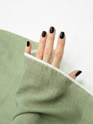 Батист зеленый с эффектом меланж (10085) - Фото 19