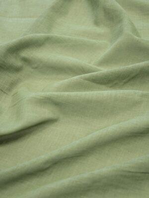 Батист зеленый с эффектом меланж (10085) - Фото 18