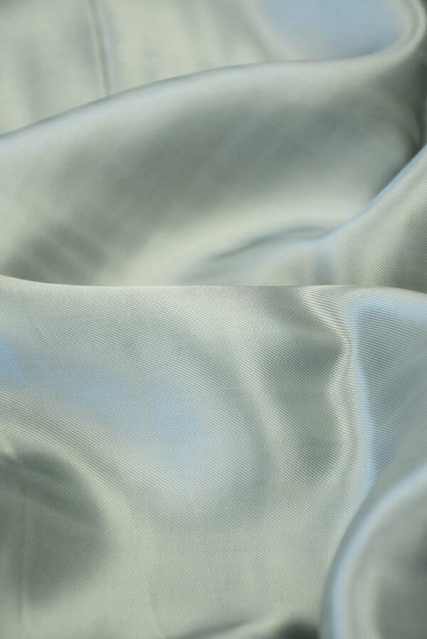 Подклад вискоза серый с зеленоватым оттенком (10148) - Фото 11