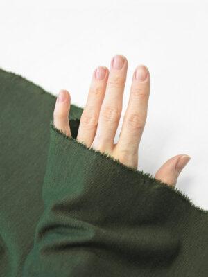 Джерси темно-зеленого оттенка (10152) - Фото 23