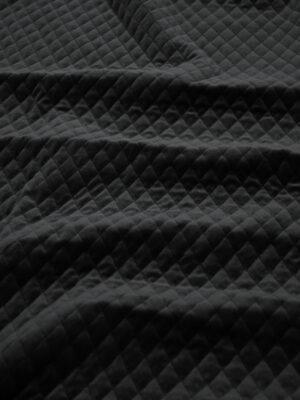Курточная бархатная стежка черного цвета (10158) - Фото 11