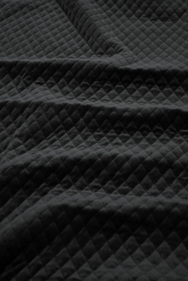 Курточная бархатная стежка черного цвета (10158) - Фото 6