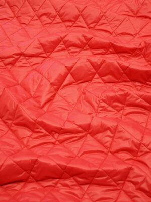 Курточная ткань красная с утеплителем (10160) - Фото 28