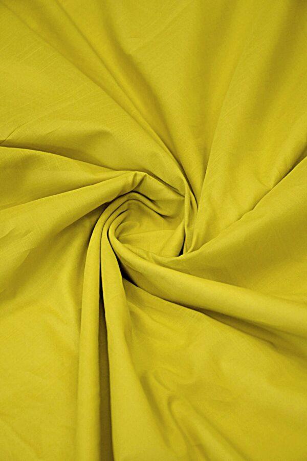 Батист хлопковый темный желтый (10556) - Фото 9