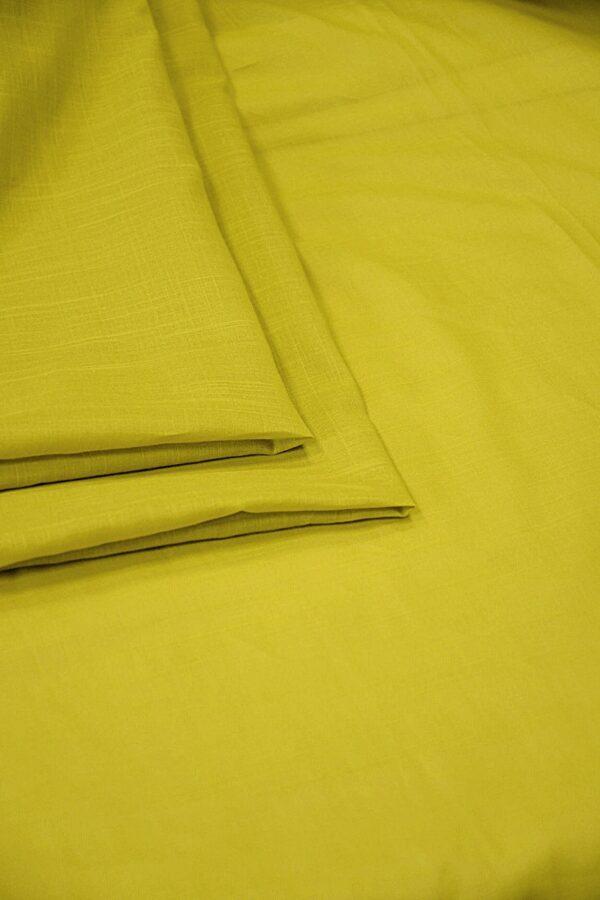 Батист хлопковый темный желтый (10556) - Фото 7