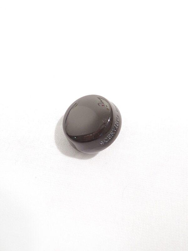 пуговица scervino коричневая