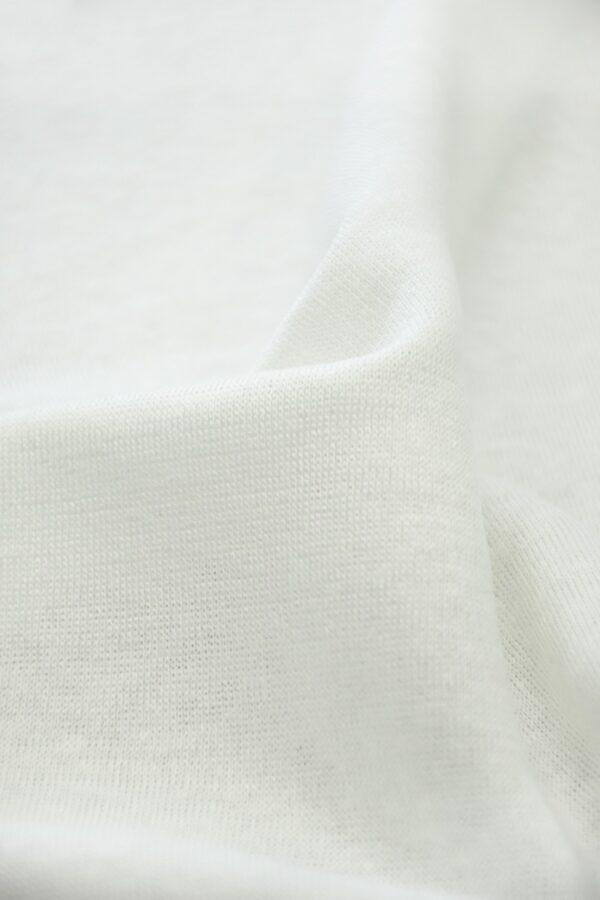 Трикотаж молочного оттенка (10210) - Фото 10