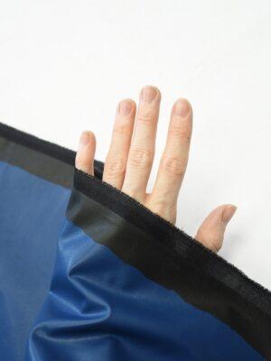 Экокожа стрейч синяя (10217) - Фото 29
