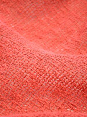 Сетка макраме хлопковая коралловая