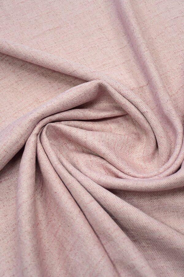 Лен твидовый лилового оттенка (10224) - Фото 8