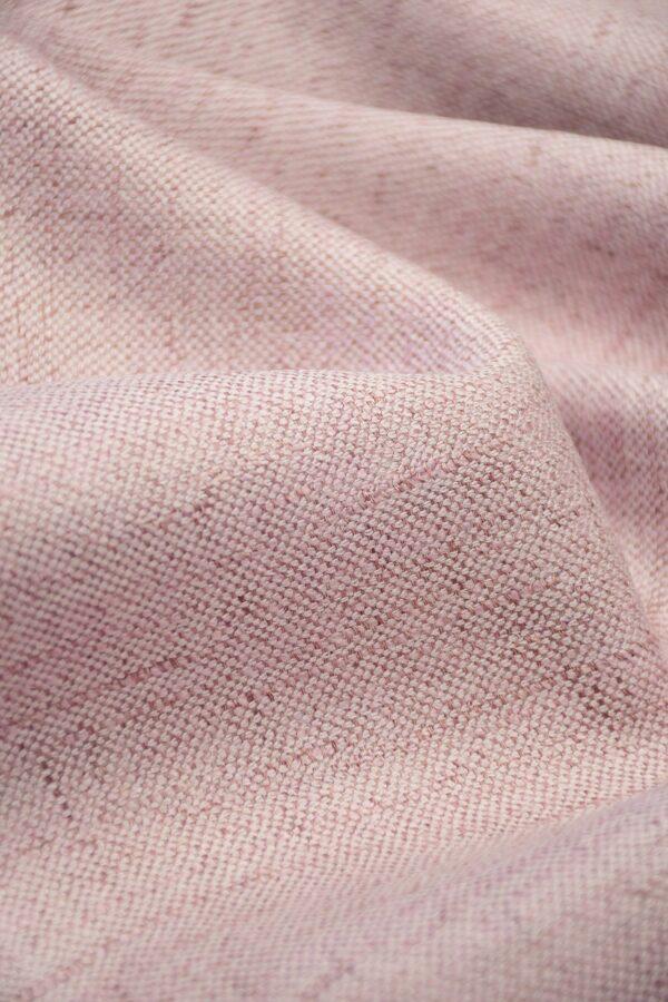 Лен твидовый лилового оттенка (10224) - Фото 11