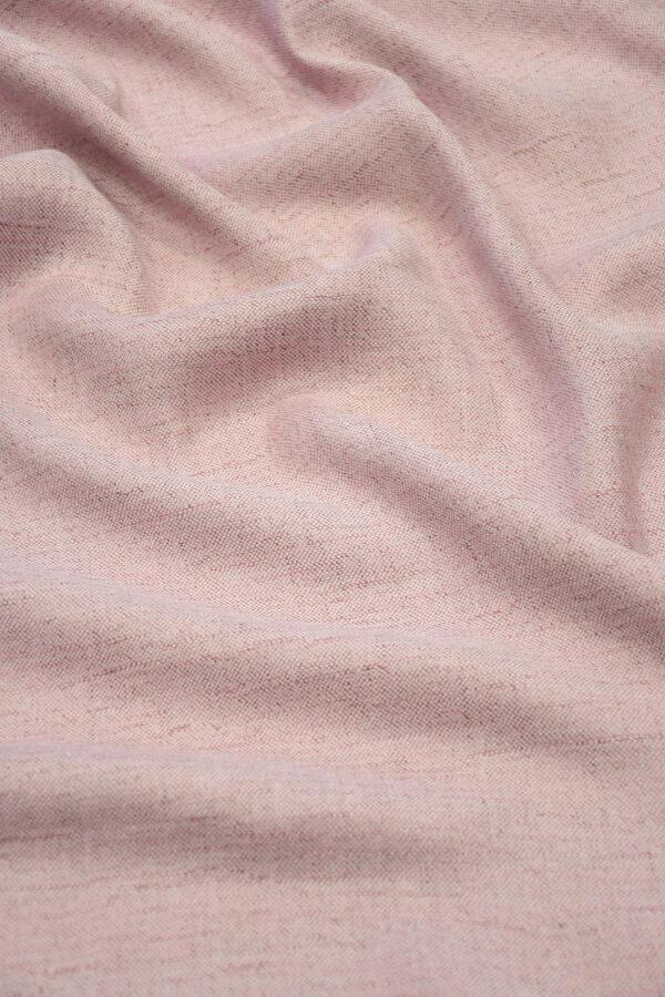 Лен твидовый лилового оттенка (10224) - Фото 6