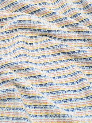Шанель хлопок в разноцветную полоску (10239) - Фото 26
