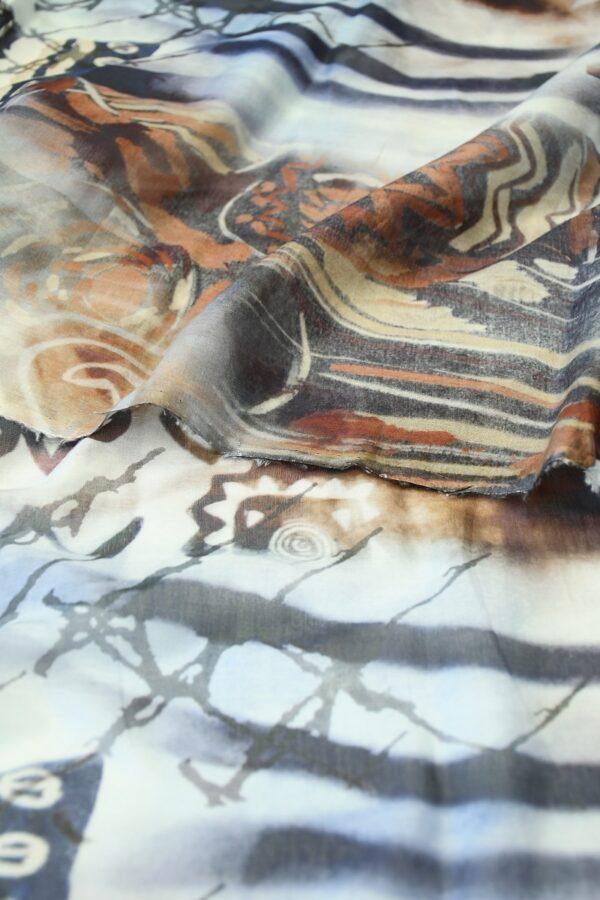 Батист с африканскими мотивами (10247) - Фото 10