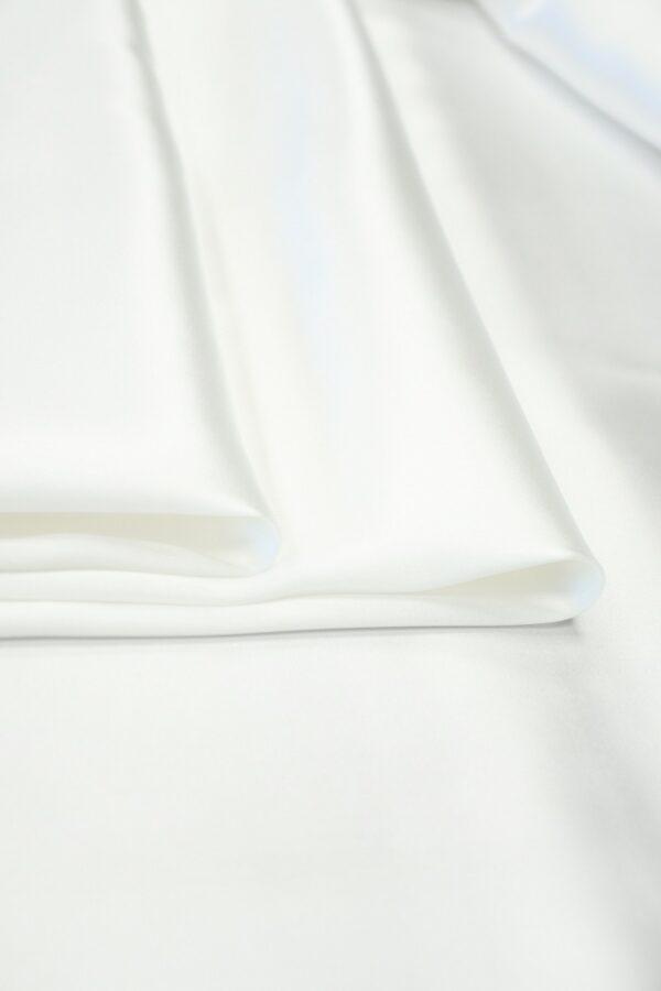 Атлас белый глянцевый (10256) - Фото 9