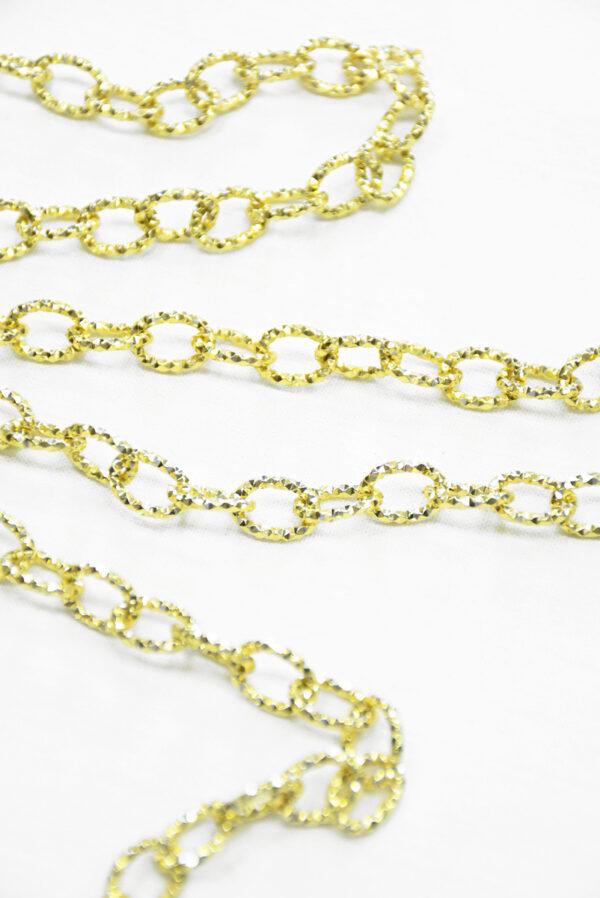 Цепь золотая с филигранью (t0347) к-19 - Фото 9