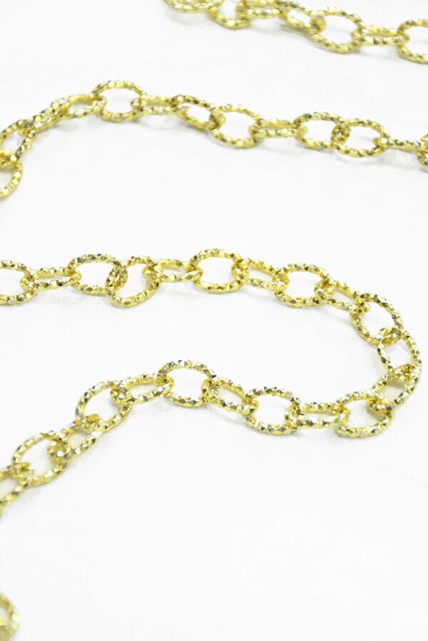 Цепь золотая с филигранью (t0347) к-19 - Фото 8