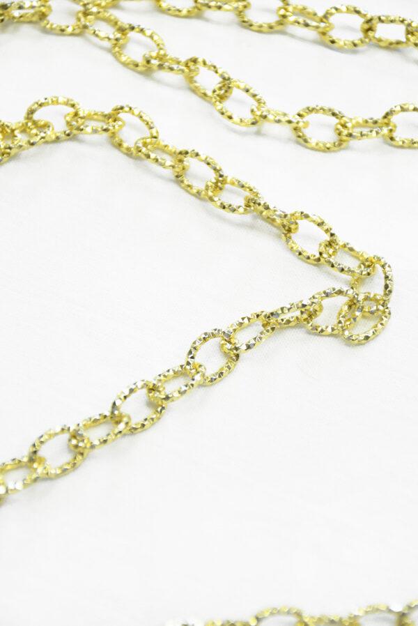 Цепь золотая с филигранью (t0347) к-19 - Фото 10