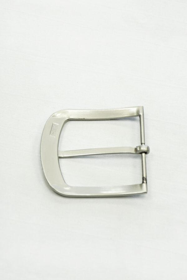 Пряжка прямоугольная металл серебро 2