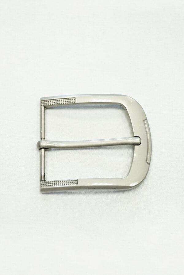 Пряжка прямоугольная металл серебро