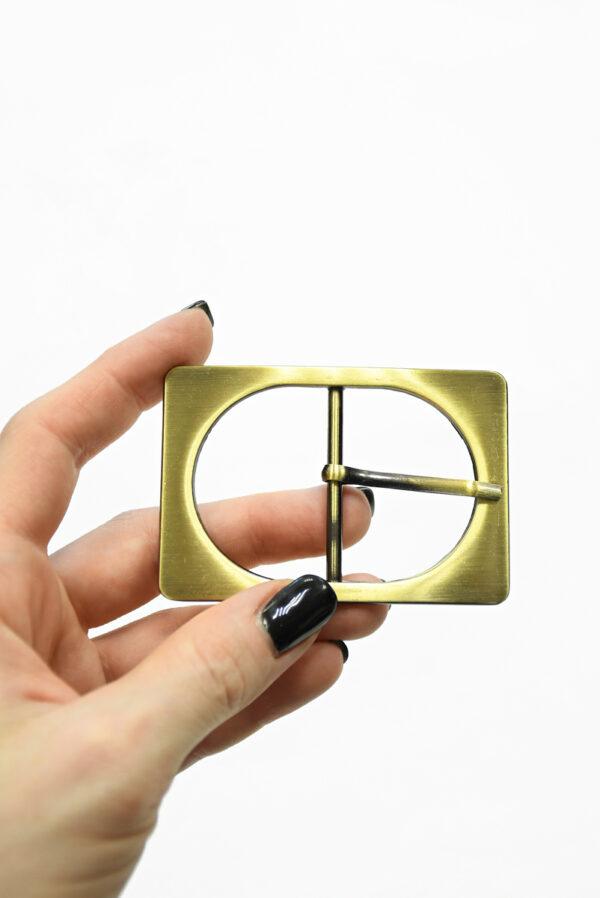 Пряжка металл латунь прямоугольная 1