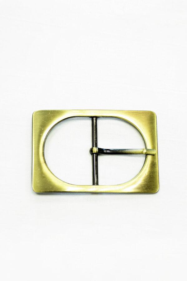 Пряжка металл латунь прямоугольная