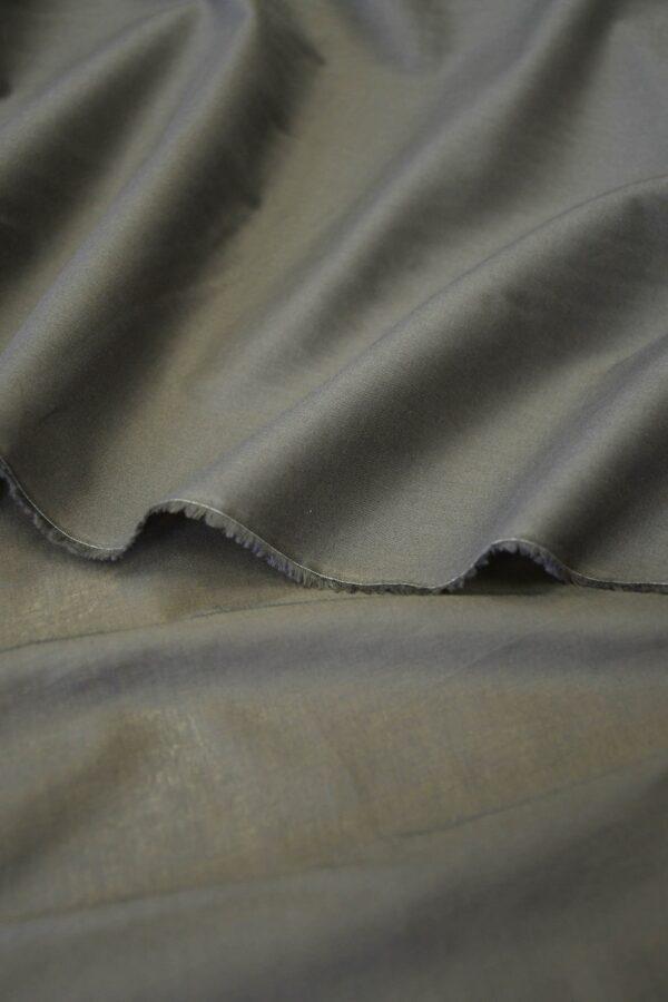 Батист серо-коричневый (10280) - Фото 10