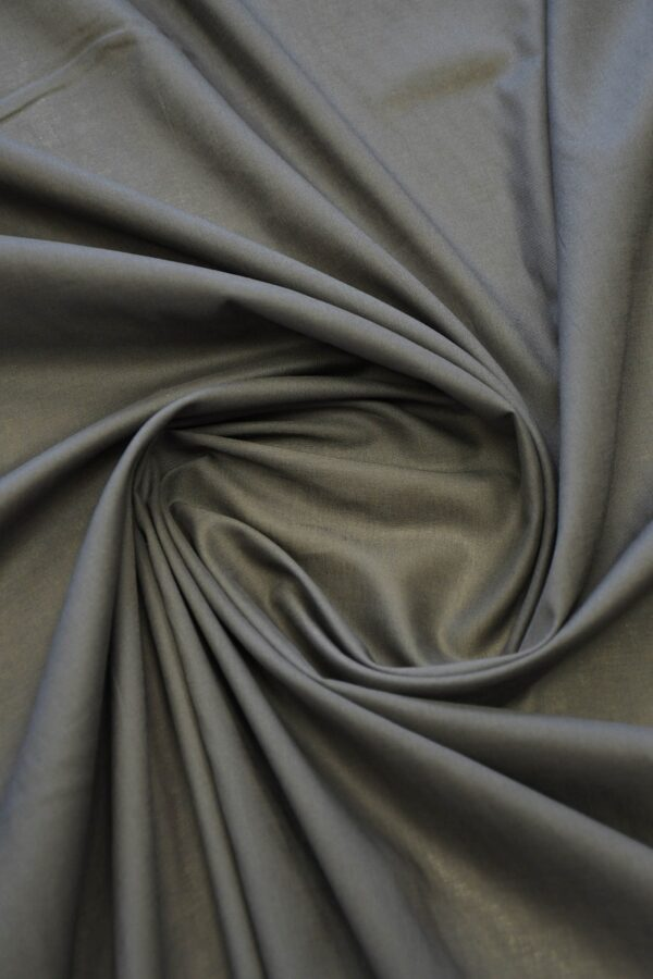 Батист серо-коричневый (10280) - Фото 8