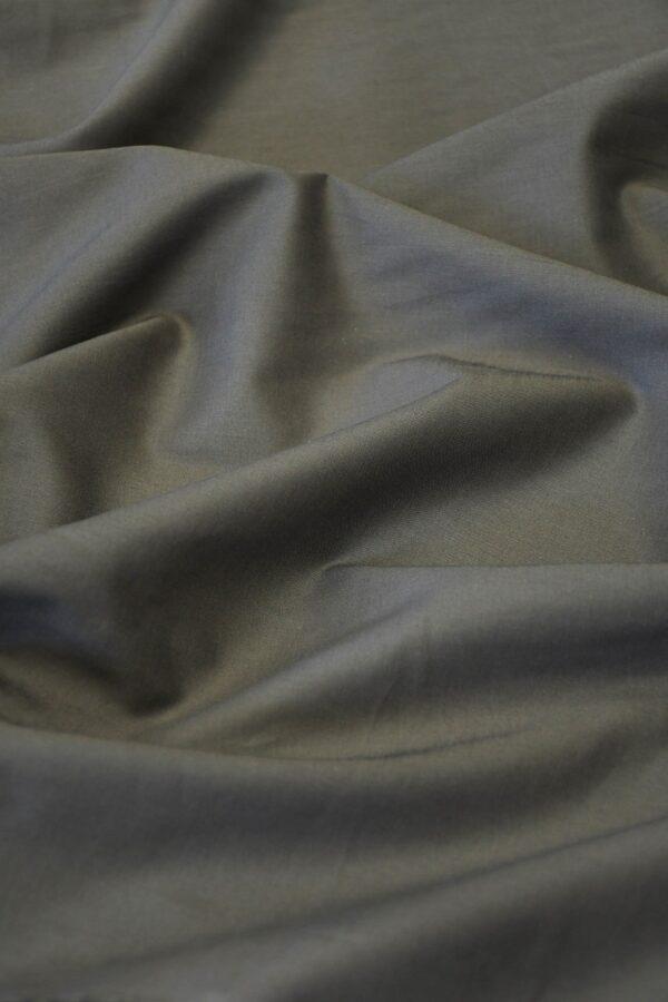 Батист серо-коричневый (10280) - Фото 6