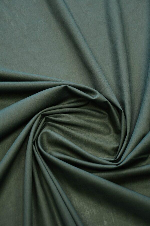 Батист серо-зеленый (10288) - Фото 8
