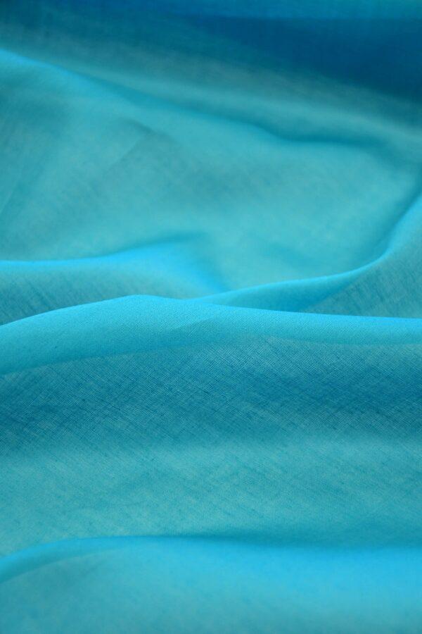 Батист голубой (10290) - Фото 11