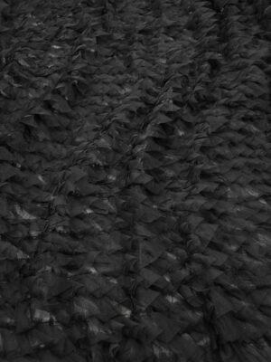 Сетка черная с рюшами (10298) - Фото 16