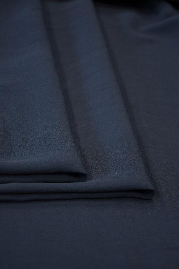 Креп темно-синий (10309) - Фото 9