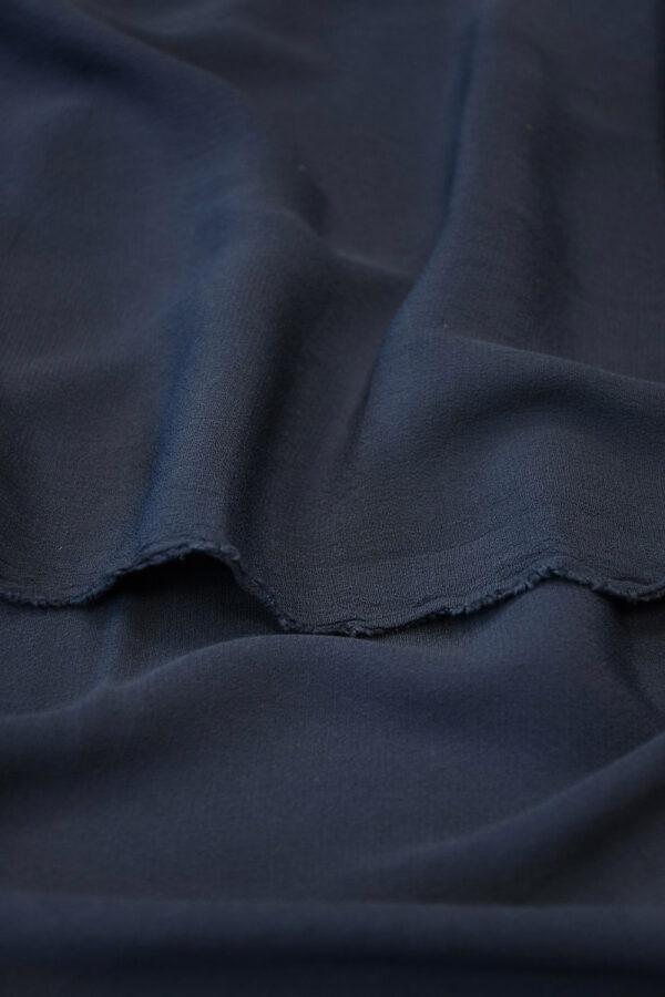 Креп темно-синий (10309) - Фото 10