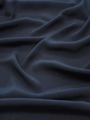 Креп темно-синий (10309) - Фото 28