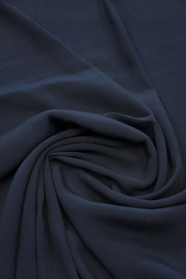 Креп темно-синий (10309) - Фото 8