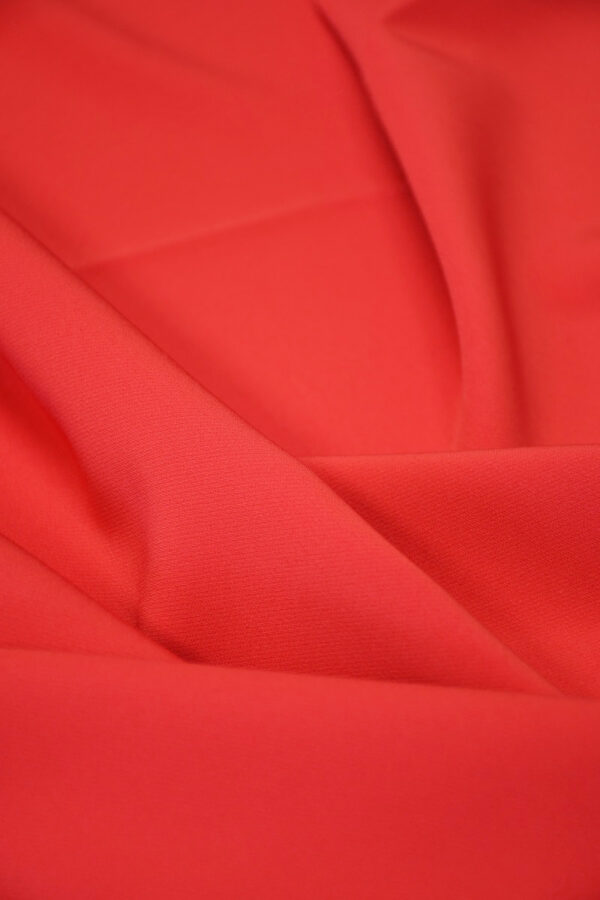 Кади стрейч ярко-красный 4